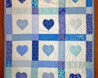 Blue Baby Quilt Top Kit