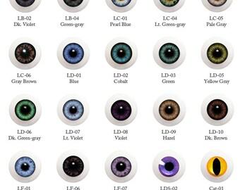 G10LF-01 10mm / Eyes / Glib