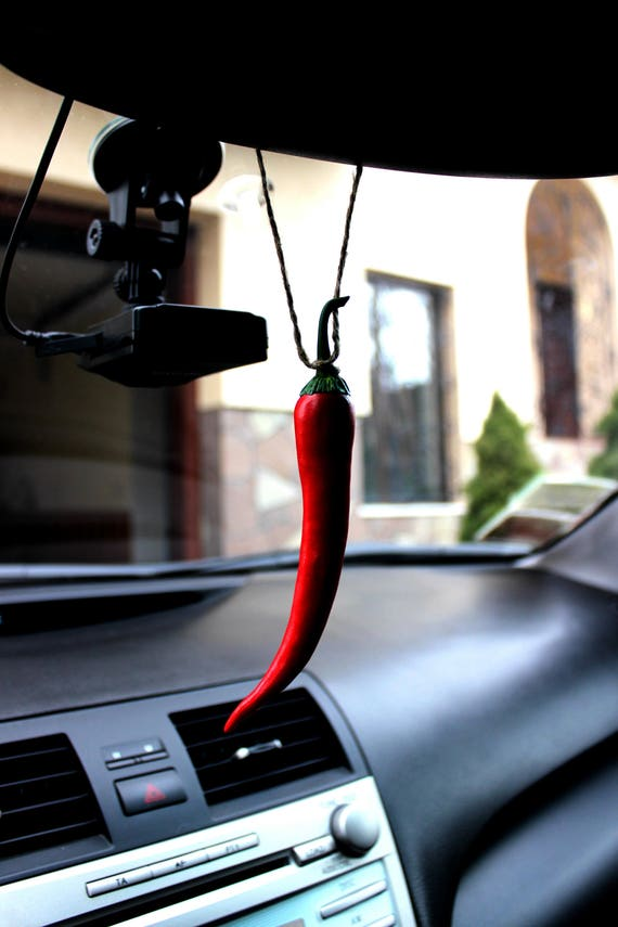 Car accessories Pepper chilli view Mirror Charm Red pepper