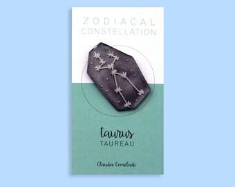 pin the Zodiac constellation - Taurus
