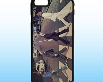 Beatles Abbey Road Custom Iphone Case, Iphone 5, 6, 7, 8, X