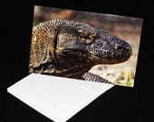 Komodo Dragon Blank Greet...