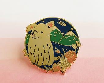 Year of the Dog Enamel Pin