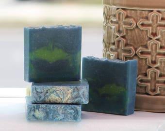 Citrus Mint Body Soap With Peppermint, Lemongrass, Eucalyptus and Litsea Cubba Essential Oils