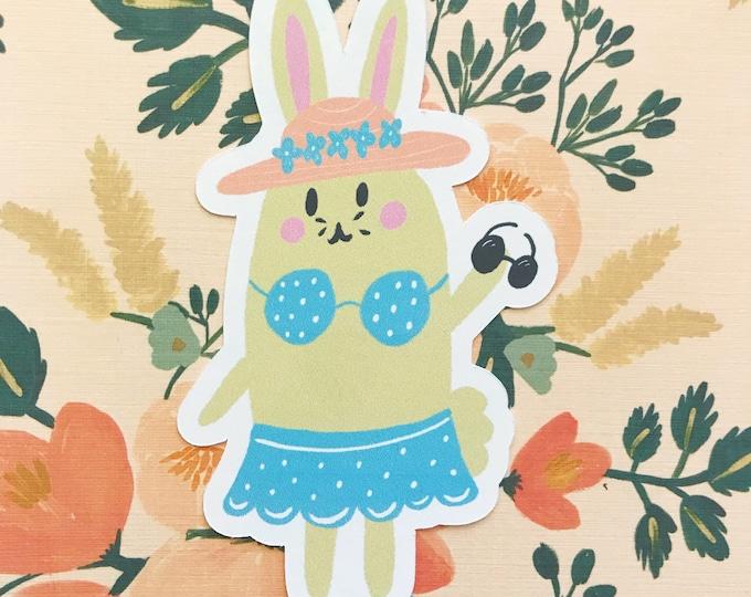 Beach Bunny Die Cut