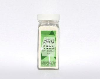 rosemary lavender dry shampoo \ 4 oz \ natural hair products \ hair growth \ natural dry shampoo \ vegan dry shampoo