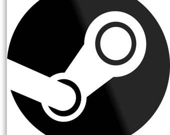 Steam Logo Vinyl Sticker