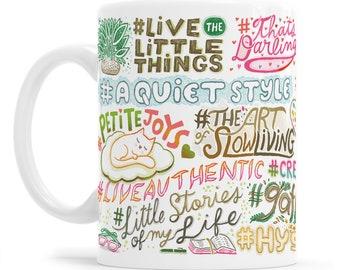 Instagram Blogger Hashtag Food Blogger Interior Blogger Post Planner Day Planner Blogger Mug Hashtag Life Instagram Mug Instagram Gift