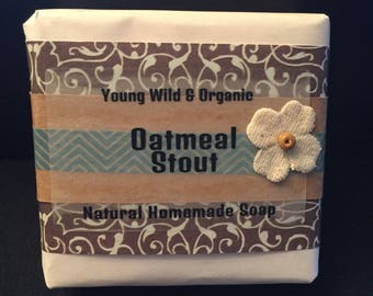 Oatmeal Stout || Natural Goat's Milk Soap