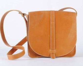 Leather bag Leather Crossbody Bag Camel leather bag Bag Small Leather Bag Handmade Bag Leather Messenger Bag Shoulder bag leather Bag