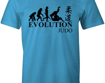 Evolution of Judo Cool Martial Arts Children's T-Shirt