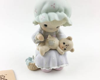 Vintage Precious Moments 1990 Members Only  You Are A Blessings To Me Figurine PM-902