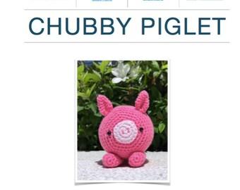 Pattern: Chubby Piglet (Digital PDF)