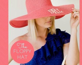 Monogrammed Floppy Hat