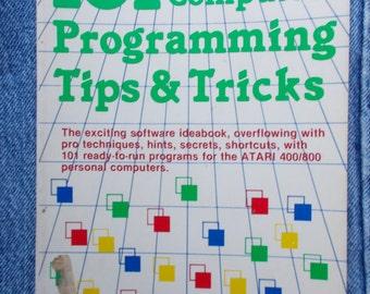 Vintage Atari Computer Tips and Tricks Book 1983