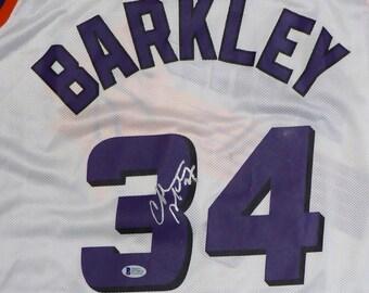 Charles Barkley Autographed Signed Phoenix Suns Jersey BECKETT