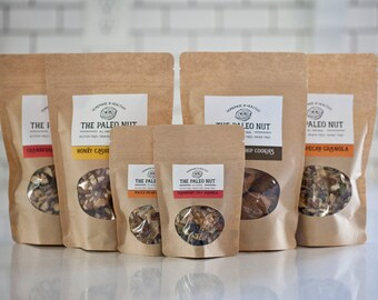 VARIETY PACKAGE includes Granolas and Cookies