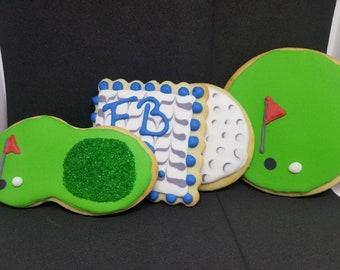Golf Club Cookies