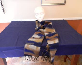 Vintage 100% Acrylic Scarf By Bekshire