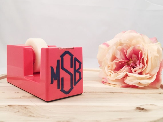 Monogrammed Tape Dispenser