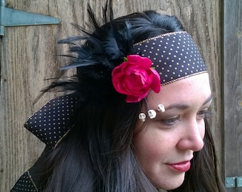 Buttercup and Bow 20s Headband