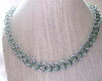 Dragon Tail Chainmail Necklace