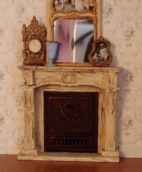 1:24 Scale Miniature Dollhouse Furniture Kit Closed French