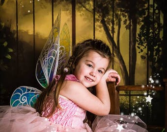 Iridescent Tinkerbell Inspired Fairy Wings