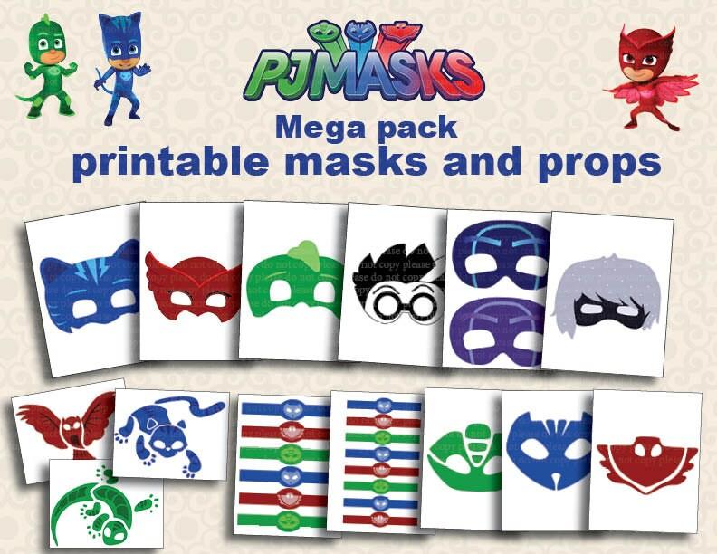 Pj Masks Coloring Pages Villian