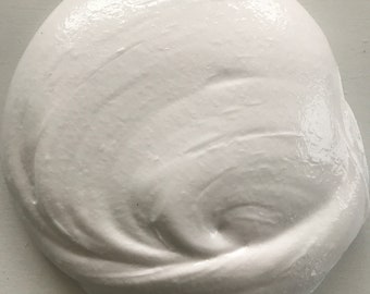 just a hunk of white slime