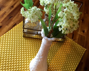 Vintage Milk Glass Bud Vase