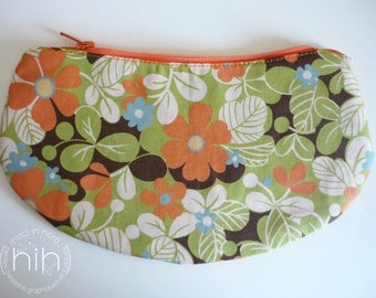 "small pouch LuNa / ""the flowering..."" / clutch for small or large!"