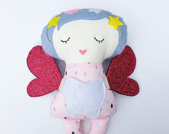 Tooth Fairy - Softies - Cloth doll