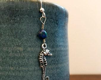 Earthly Seahorse Earrings