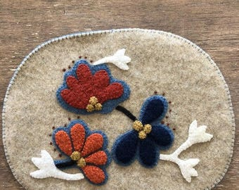 Wool Candle Mat