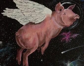 Spacey Pig