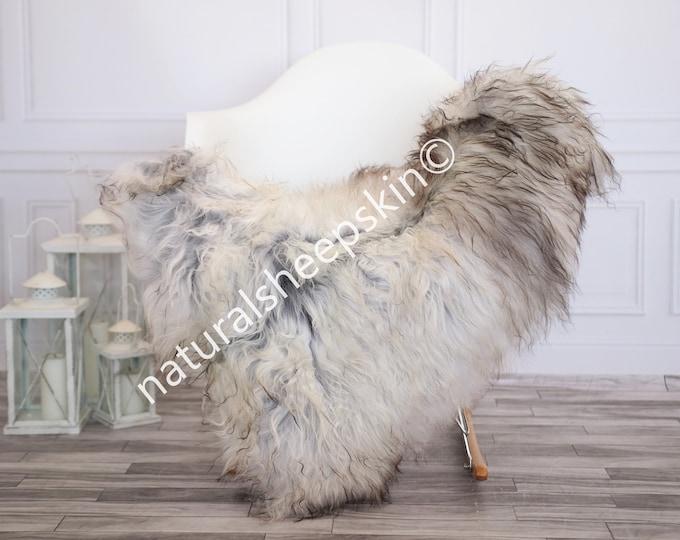 Icelandic Sheepskin | Real Sheepskin Rug | Gray Sheepskin Rug | Fur Rug | Homedecor #febisl17