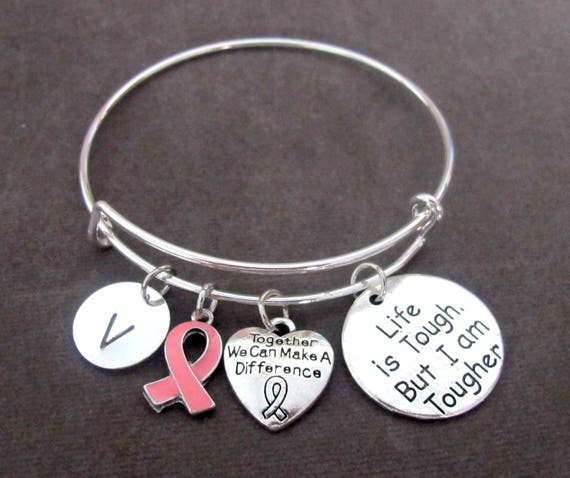 Pink Ribbon Awreness Bracelet,Breast Cancer Awareness,Breast Reconstruction Awareness-BRA, Nursing Mothers, Birth Parents, Free Shipping USA