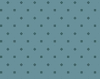 Yardage, Something Blue 8834-B Blue Princess Cut by Edyta Sitar from Andover Fabrics, Traditional Quilt, Reproduction Fabric