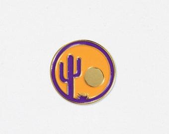 Arizona Soft Enamel Lapel Pin - Hello Apparel Collaboration