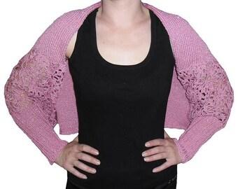 Hand knitted bolero