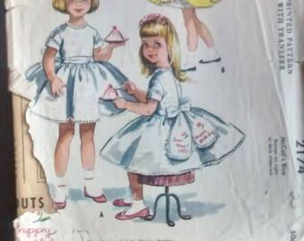 Vintage 1950's Valentine Child's Dress pattern