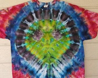 Tie Dye Alien Shirt XL