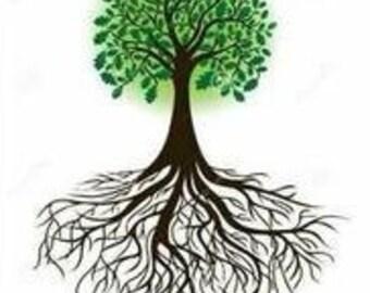 Oak Tree Cross Stitch Pattern