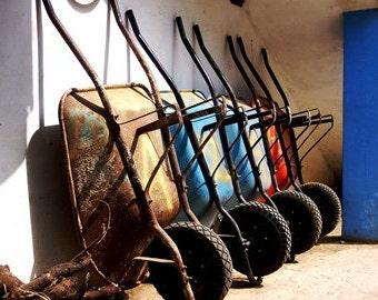 Wheel Barrels