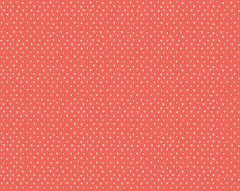 Heart and Soul  - C6704-Red Heart Triangle Red by Deena Rutter for Riley Blake Designs