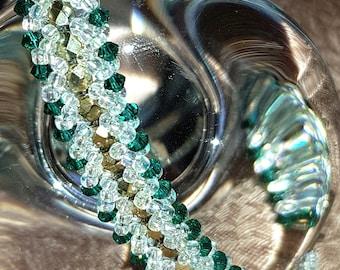 Bracelet Emerald and gold