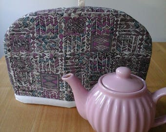 tea cosy, tea pot cosy, two cup tea pot cosy, medium tea cosy, 2 cup tea pot cosy