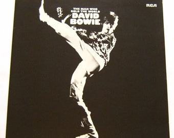 David Bowie LP Vinyl Record Album The Man Who Sold The World 1972 Germany release in great condition