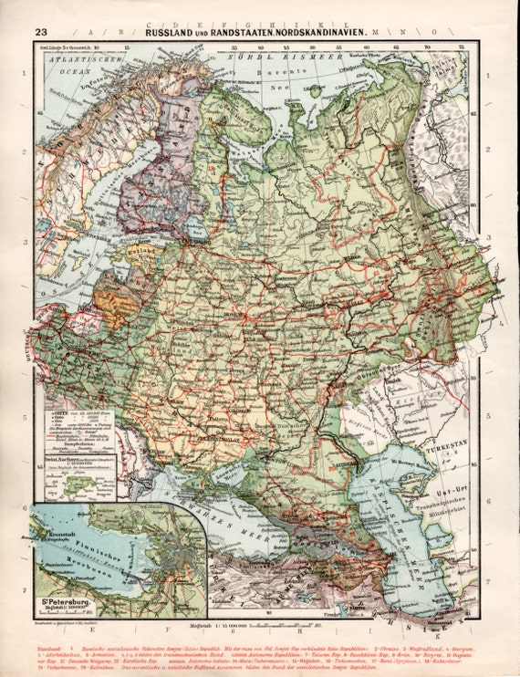1926 northern europe map russia old map finland sweden gumiabroncs Gallery